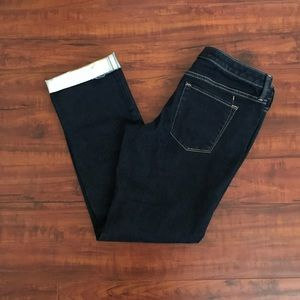 Mossimo mid-rise straight jeans | super stretch